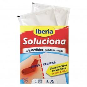 Comprar Quitadesteñidos Soluciona de Iberia para ropa blanca teñida por ropa de color