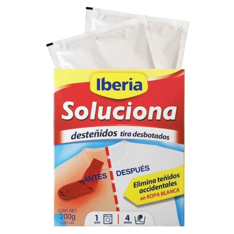 Quitadesteñidos Soluciona de Iberia