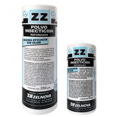 Polvos ZZ insecticida para hormigas, pulgas, chinches, garrapatas, cucarachas.