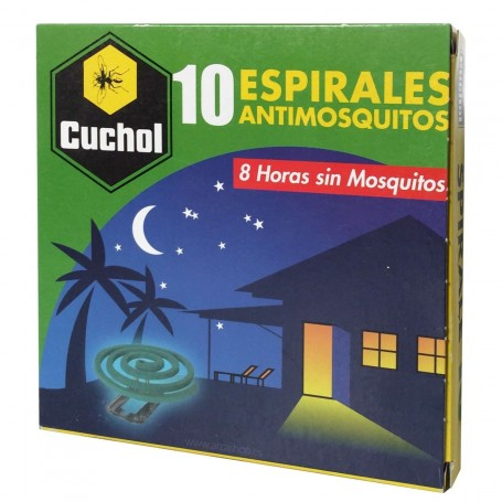 Espirales antimosquitos de Cuchol para moscas y mosquitos incienso