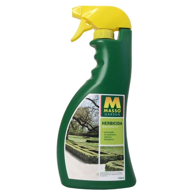 Herbicida líquido Massó Garden