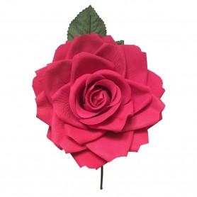 Flor de Gitana o Flamenca Clásica Grande Verde, Azul, Amarillo, Rojo, Turquesa, Sevilla, Tomares, Comprar