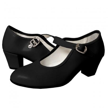 Zapato Negro de Flamenca Comprar