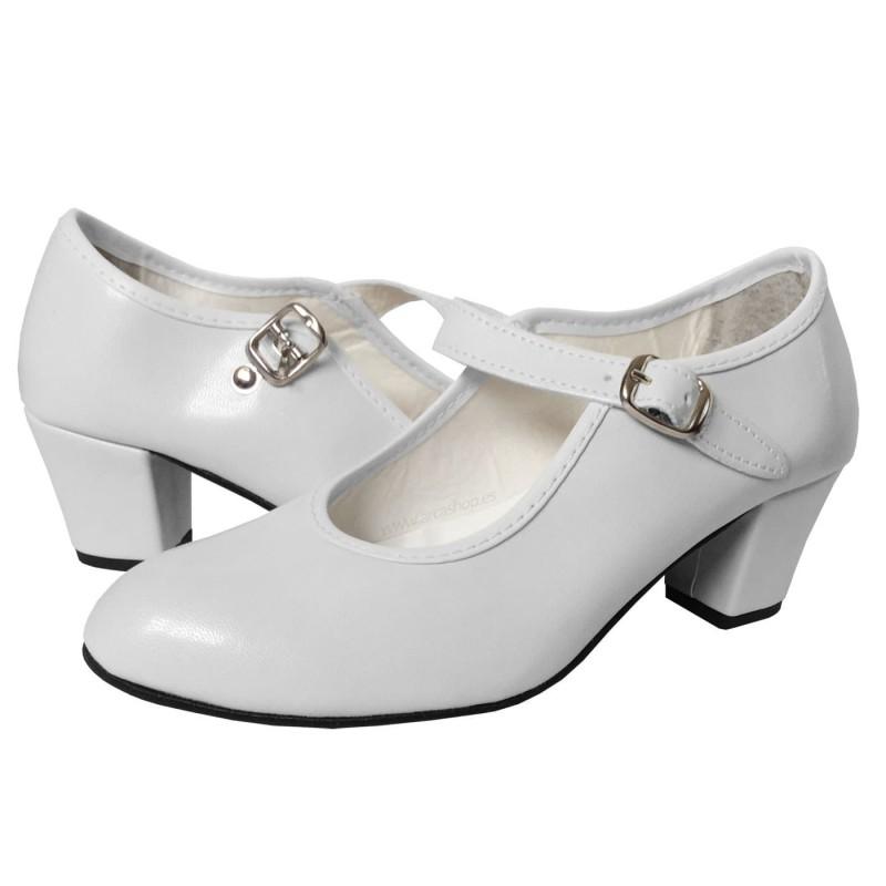 Zapato de Gitana o Flamenca Piel Sintética