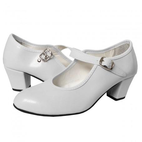 Zapato de Flamenca Blanco Comprar Sevilla Tomares