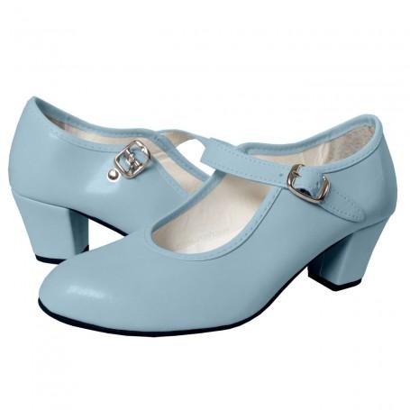 Zapato de Flamenca Celeste Comprar