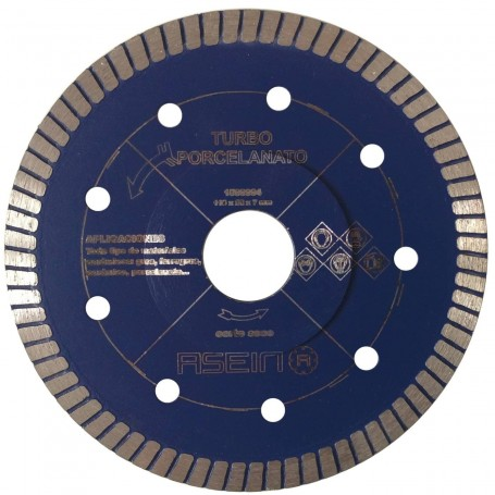 Disco Amoladora Diamante 115 mm gres, ferrogres, cerámica, porcelanato, granito, mármol, piedra arenisca
