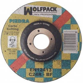 Disco Corte Piedra Wolfpack ladrillo, losa disco 115 mm pequeño Sevilla Tomares