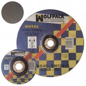 Disco Corte Metal Wolfpack radial