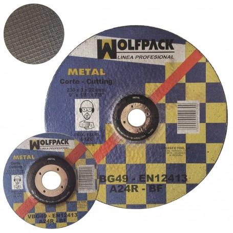 Disco Corte Metal Wolfpack