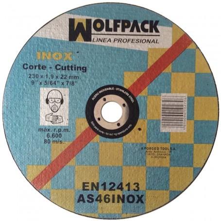 Disco Corte Metal Inox. larga duración 230 rotaflex radial sevilla tomares