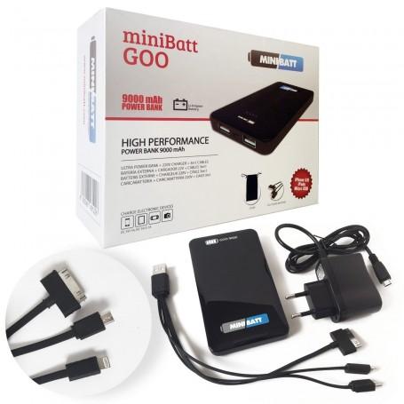 MiniBatt GOO - Bateria externa para móviles, tablets y otros dispositivos