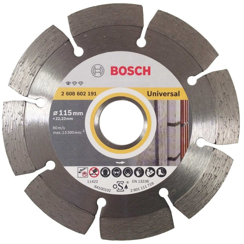 Disco Laser Obra Profesional Diamante Bosch
