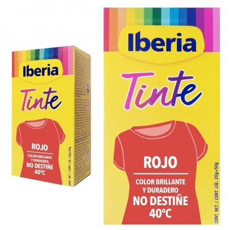 Tinte Iberia Rojo