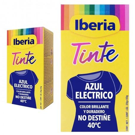 Tinte Iberia Azul Eléctrico