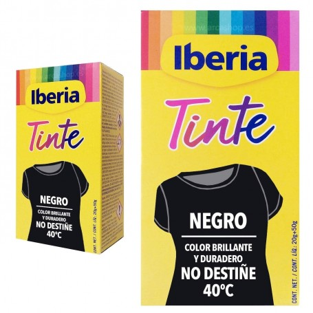Tinte Iberia Negro