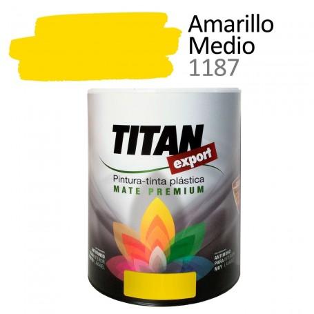 Tintan Export Pintura Plástica Amarillo Medio 750 ml