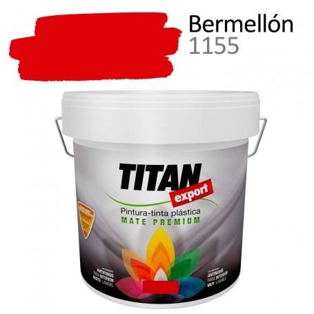 Tintan Export Pintura Plástica Color Bermellón 4 litros mate interior Sevilla