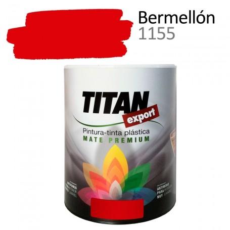 Tintan Export Pintura Plástica Color Bermellón 750 ml mate interior Sevilla