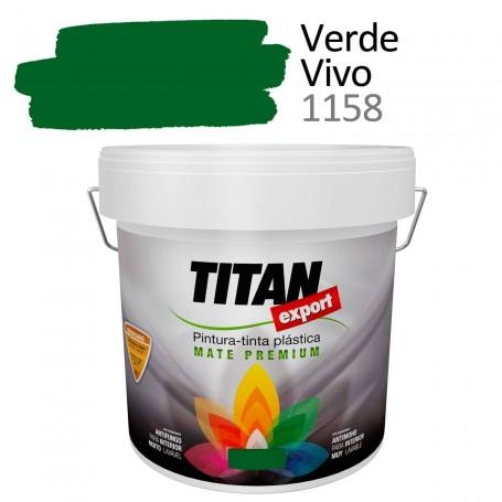 Tintan Export 4 litros color verde vivo 1158