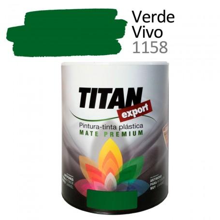 Tintan Export 750 ml color verde vivo 1158