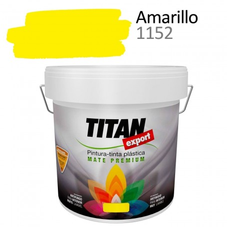 Tintan Export 4 litros color amarillo 1152
