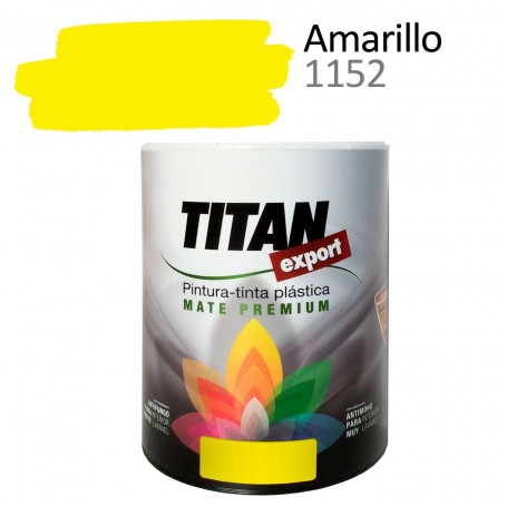 Tintan Export 750 ml color amarillo 1152