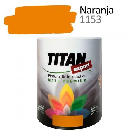 Tintan Export 750 ml color naranja 1153