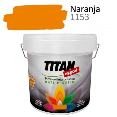 Tintan Export 4 litros color naranja 1153