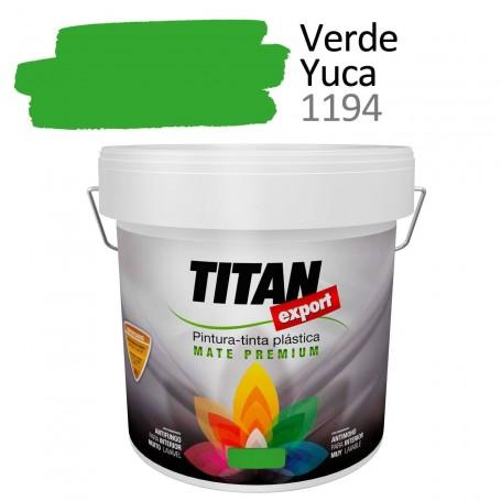 Tintan Export 4 litros color verde yuca 1194