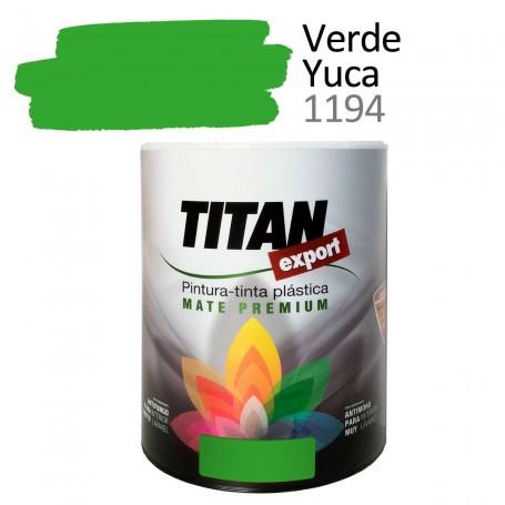 Tintan Export 750 ml color verde yuca 1194