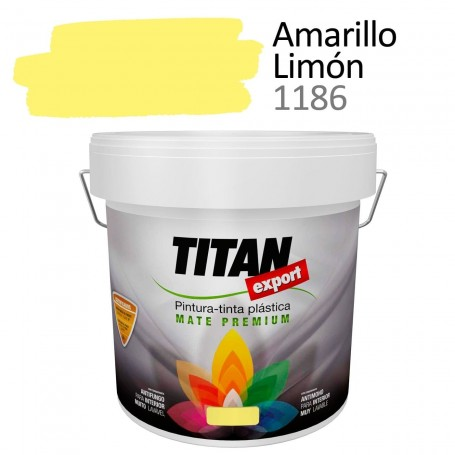 Tintan Export 4 litros color amarillo limon 1186