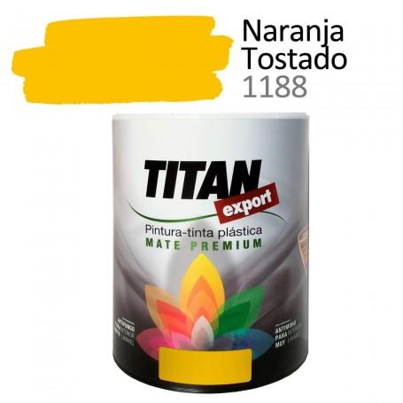Tintan Export 750 ml color naranja tostado 1188