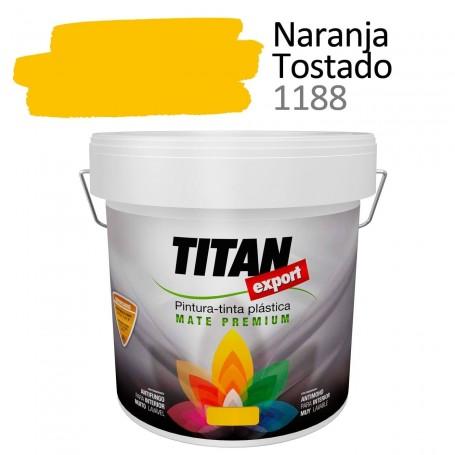 Tintan Export 4 litros color naranja tostado 1188