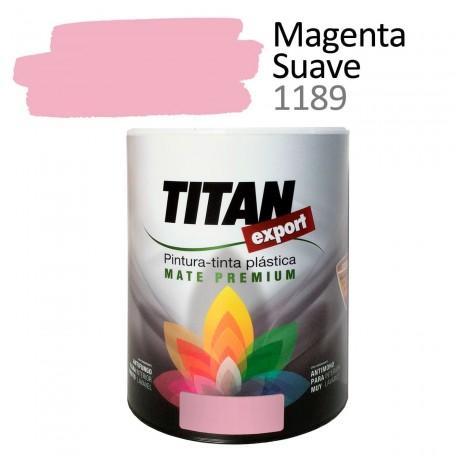 Tintan Export 750 ml color magenta suave 1189