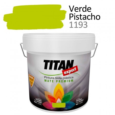 Comprar pintura plástica Tintan Export 4 litros verde pistacho 1193