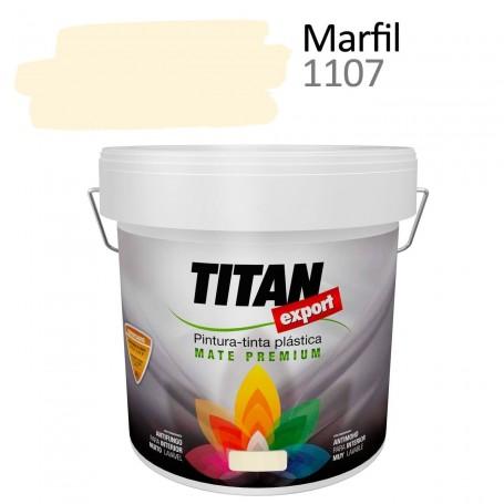 pintura interior mate Tintan Export 4 litros marfil 1107