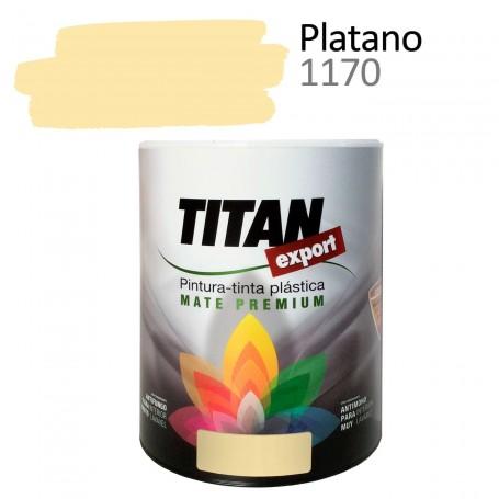 pintura interior mate Tintan Export 750 ml plátano
