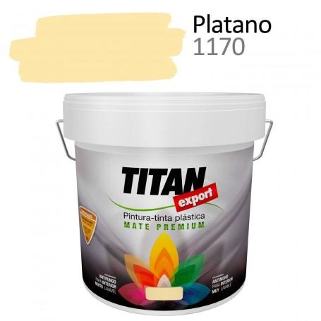 pintura interior mate Tintan Export 4 litros plátano