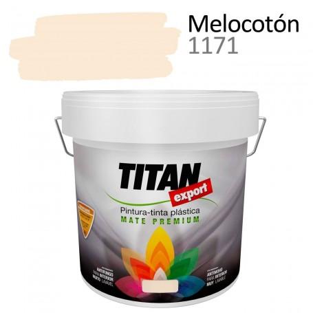 pintura plástica mate Tintan Export 4 litros melocotón 1171