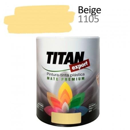 Tintan Export 750 ml beige 1105 Pintura Plástica interior mate Sevilla, Tomares. Tienda de pinturas Arca de Noé