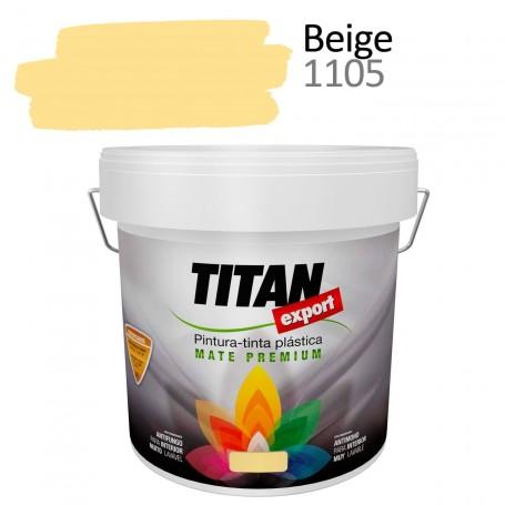 Tintan Export 4 litros beige 1105 Pintura Plástica interior mate Sevilla, Tomares. Tienda de pinturas Arca de Noé