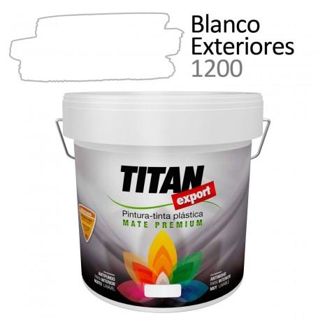 Tintan Export 4 litros blanco exteriores 1200 Pintura Plástica interior mate Sevilla, Tomares.