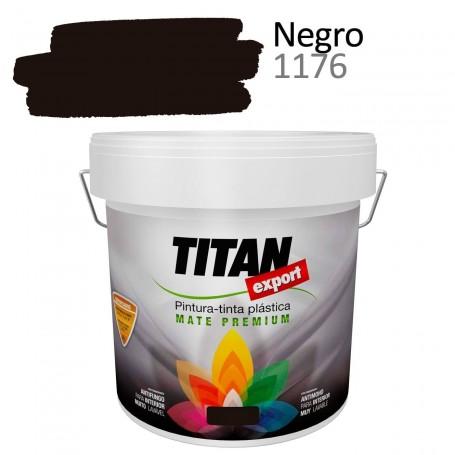 Tintan Export 4 litros Negro 1176 Pintura Plástica interior mate Sevilla, Tomares.