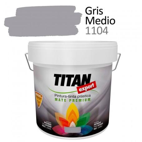Tintan Export 4 litros Gris 1104 Pintura Plástica interior mate Sevilla, Tomares.