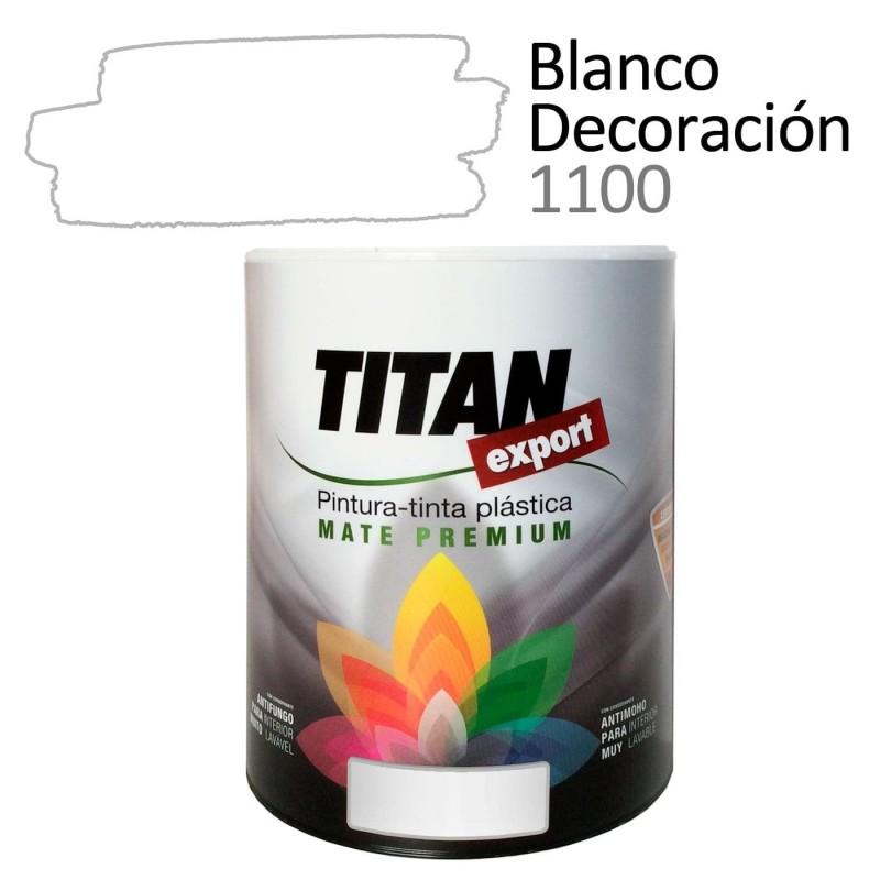 Titan Export Pintura Plástica Blanca