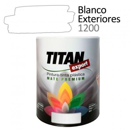 Tintan Export 750 ml Blanco Exteriores 1100 Pintura Plástica interior mate Sevilla, Tomares.
