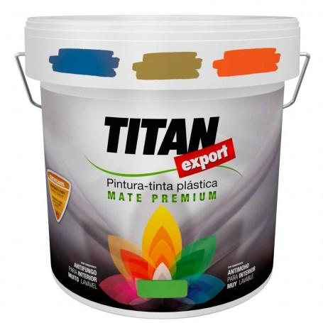 Tintan Export Pintura Plástica Interior Blanco, negro y colores