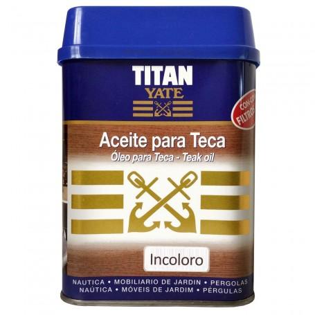 Aceite TITAN YATE incoloro para madera