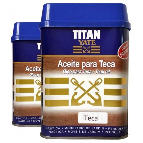 Aceite Teca o incoloro TITAN YATE